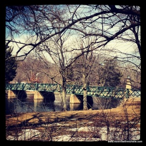 One of my favorite bridges on the Fox River trails