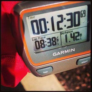 8 min miles