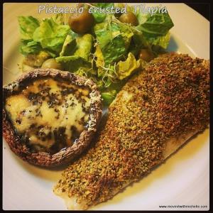 1-pistachio crusted tilapia
