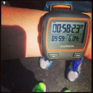 6 miles, BOOYAH!