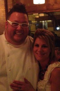 Me, and Graham Elliot in 2012.