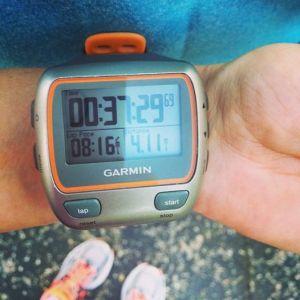 second 4 miler.  bam!
