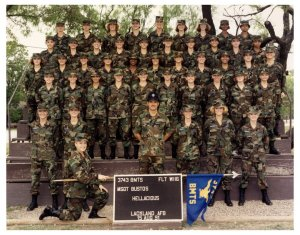 Basic training...can you find me?