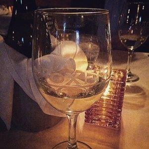 Birthday wine at Fox Fire in Geneva IL, delish!