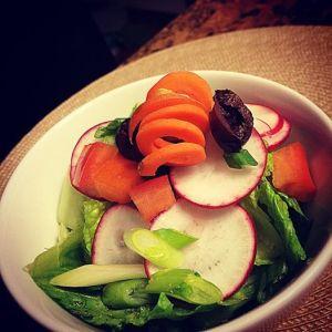 Salad!  yum!