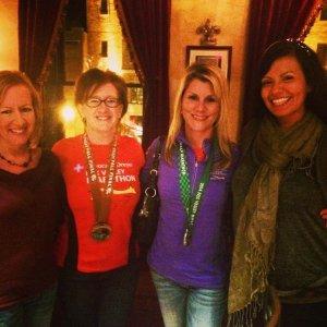 Fox Valley Marathon sisters