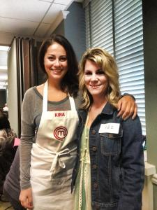 MasterChef audition, meeting Kira!