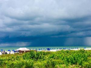 Storms brewing in Marco Island, FL