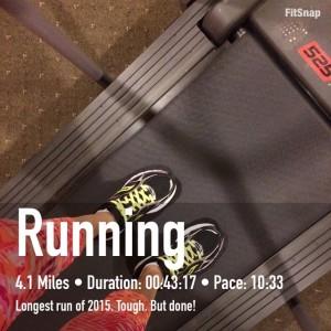 Longest run to date this year!