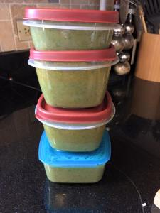 detox soup, ready for my lunches this week!
