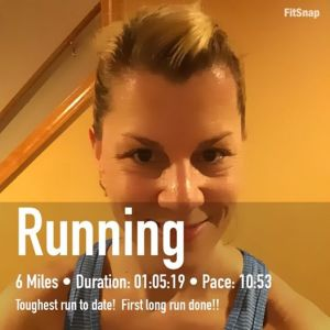 Week 1, long run, DONE.