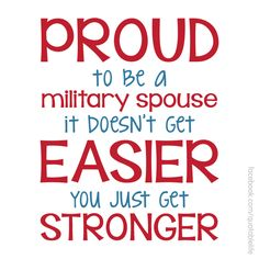 I may have served 20 years, but I still have years to serve as a spouse.