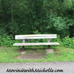 This bench always makes me smile.  #memories