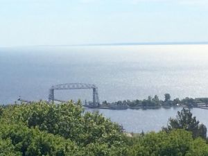 Duluth's famous Aerial lift bridge