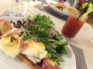 Brunch at Fig and Olive