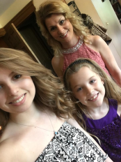 My beautiful daughter's that took me out to dinner after work, on Mother's day
