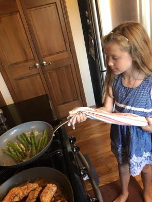 My sous chef!