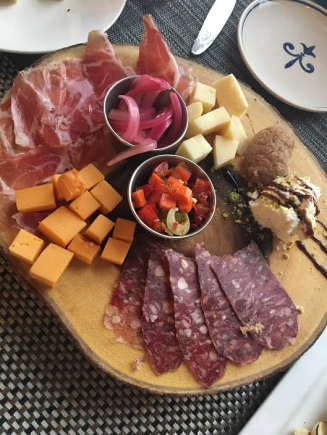 Cheese and Charcuterie from Hache'
